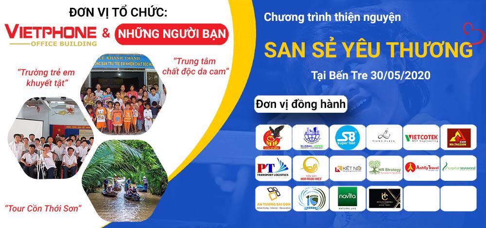 chương trình thiện nguyện VietPhone Building